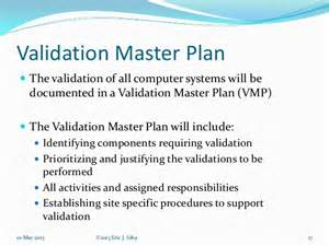 computer system validation resume master validation plan template ebook database