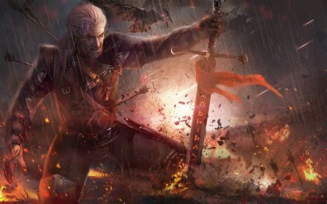 Animated Witcher 3 Wallpaper - the witcher 3 geralt fanart 4k wallpaper