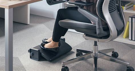 desk foot rest top 5 reasons why you need a footrest human solution