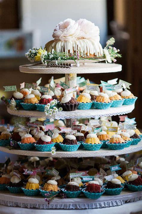 wedding cake trends   love  bundt wedding