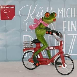 Frosch Bilder Lustig : formano frosch fahrrad rot fahrradfahrer gr n gl nzend lustig ebay ~ Whattoseeinmadrid.com Haus und Dekorationen