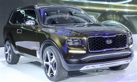 In Vehicles 2017 by Kia Telluride 2017 Hd Wallpapers