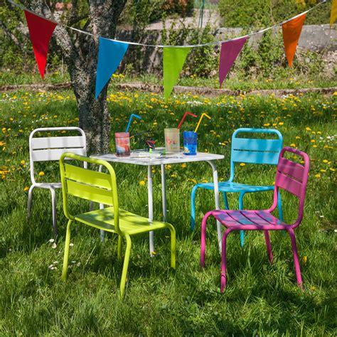 Kinder Gartenmöbel by Gartenm 246 Bel Children F 252 R Kinder Tisch Und 4 St 252 Hle