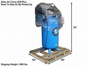 Atlas U00ae Air Force Af8plus 2 Stage 5 220v Single Phase Air