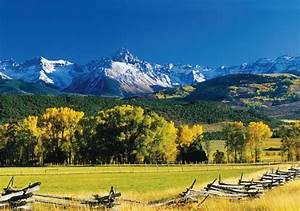 Ridgway, And, Ouray, Co, -, American, Cowboy