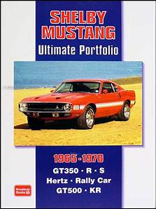 1969 Ford Mustang Shelby Repair Shop Manual Supplement Reprint Gt350 Gt500