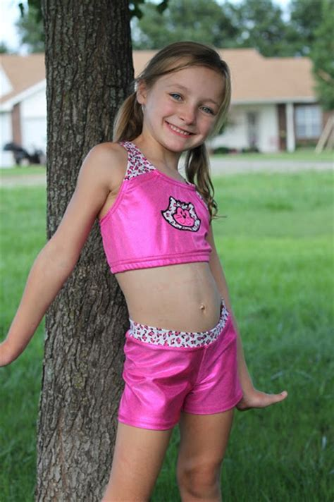 Cole's Corner and Creations: Gymnastics outfits~ sports bra and gym shorties