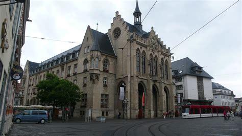 erfurt town  germany thousand wonders