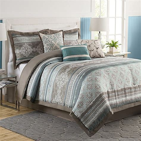 tresco  piece comforter set bed bath
