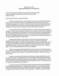 denver c snuffer jr39s blog appeal letter november 21 With amazon appeal letter