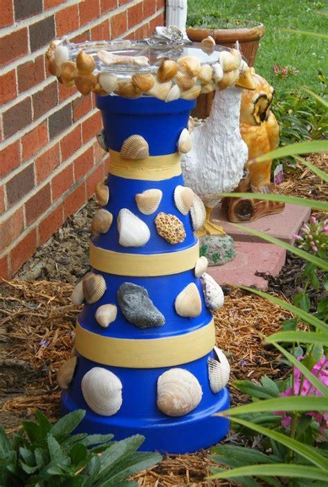 diy terra cotta flower pot bird bath home design garden architecture blog magazine