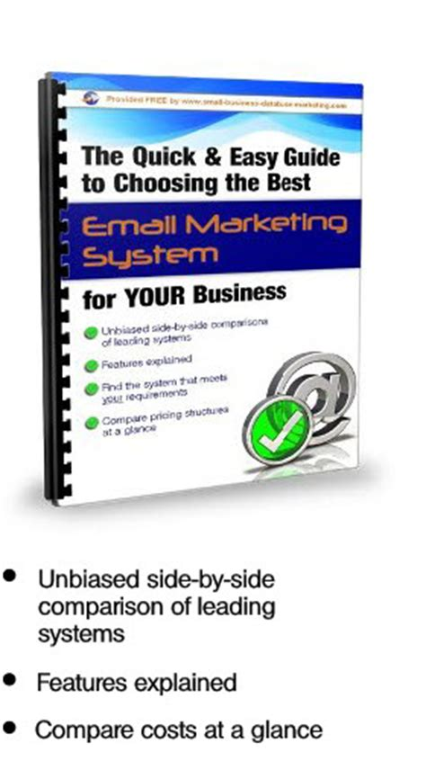 email marketing systems    guide