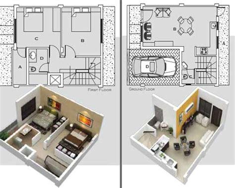 Micro House Floor Plans by Floor Plan Villa Green