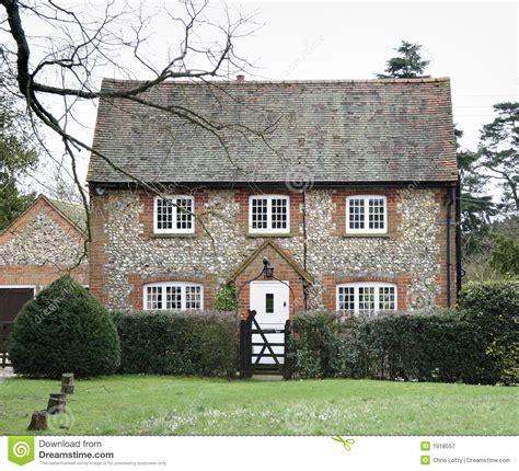 brick and flint house stock image image of flint trees 1918557