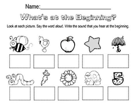 Beginning Sounds Worksheet By Megan Harmon  Teachers Pay Teachers