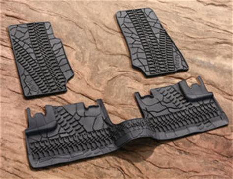 Jeep Wrangler Floor Mats Rubber by Jeep Parts Jeep Oem Interior Parts