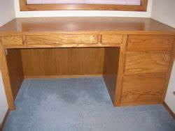 build  wood desk  woodworking plans  lees