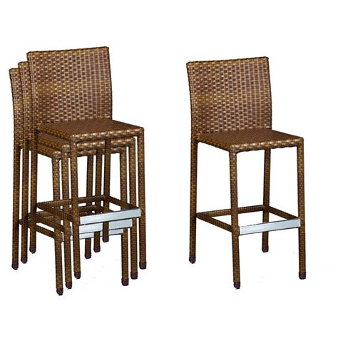 fresh birmingham rattan bar stools outdoor 24329