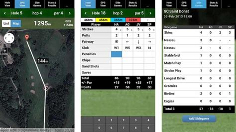 golf apps for android to play your smartphone