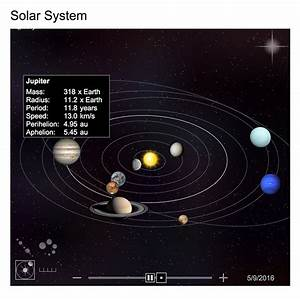 Bing Launches Interactive Solar System Tool