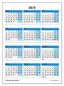 Kalender 2019 40MZ Michel Zbinden nl