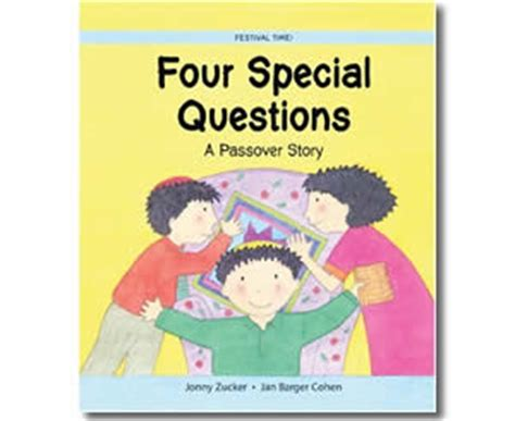 passover books four special questions a 775 | four special questions a passover story