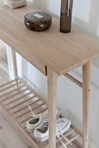 Konsolentisch Mit Schublade : noble hall konsolentisch mit schublade aus bambus von cinas ~ Watch28wear.com Haus und Dekorationen