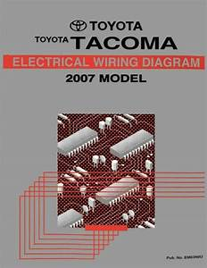 2007 Toyota Tacoma Wiring Diagrams Schematics Layout