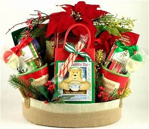 Peace on Earth Christmas Gift Basket for the Family