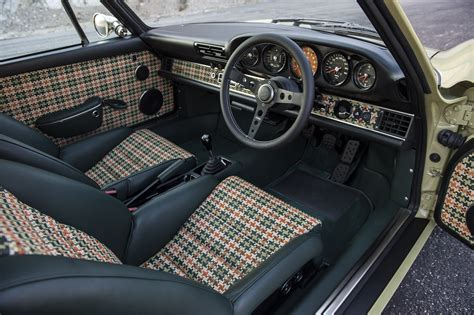 porsche 911 singer interior majestic salon prive to host latest porsche 911 reimagined