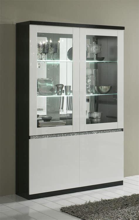 vitrine design laqu 233 e et blanche vitrine autres meubles salle a manger