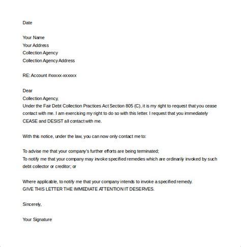cease  desist letter template   sample