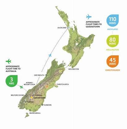 Map Zealand Wellington Around