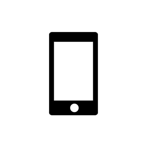 mobile phone icon vector png white mobile icon vector png pixsector