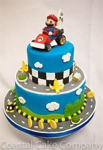 Super Mario Kuchen : mario kart cake cakes for kids geburtstagskuchen kuchen super mario torte ~ Frokenaadalensverden.com Haus und Dekorationen