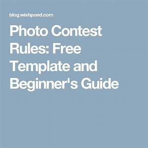 best 25 contest rules ideas on pinterest best facebook With facebook photo contest rules template