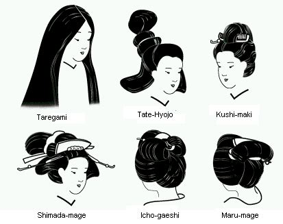 traditional japanese womens hairstyles hair
