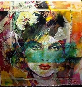 abstract mixed media art   mixed media   paper art ...
