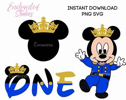 Mickey Mouse Prince Svg Clipart Clip Friends