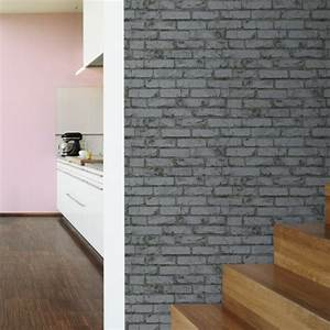 Papier Peint Rose Et Gris : tapisserie moderne pour chambre 11 papier peint brique ~ Dailycaller-alerts.com Idées de Décoration