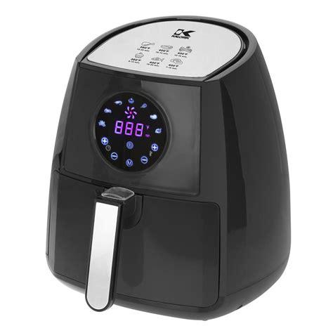 KALORIK 3.2 Qt. Digital Display Air Fryer in Black-FT ...