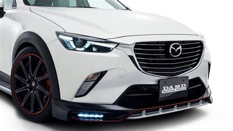 Mazda Cx3 Modification by 2016 Aggressive Looking Mazda Cx 3 In Damd Kit