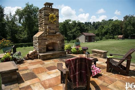 DIY Stonework: Donora man builds patio and outdoor