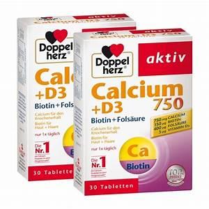 Vitamin D Dosierung Berechnen : 2 x doppelherz calcium 750 d3 bei nu3 bestellen ~ Themetempest.com Abrechnung