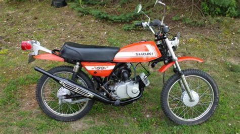 Suzuki Ts50 Goucho 1972 Ts 50 Mini Cycle Bike Motorcycle