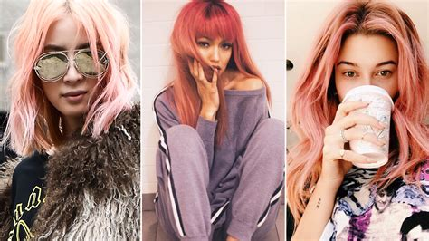 16 Best Rose-gold Hair Color Ideas By Celebrities