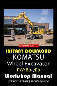 Instant Download Komatsu Pw180