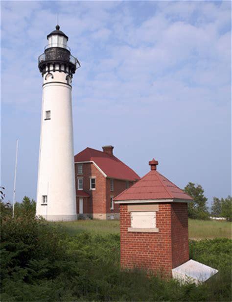 au sable point lighthouse michigan  lighthousefriendscom