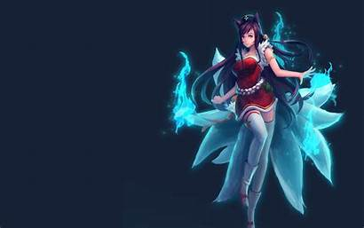 Ahri League Legends Anime Lol Wallpapers Foxfire