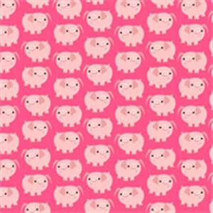 Pics For > Pink Pig Cartoon Wallpaper
